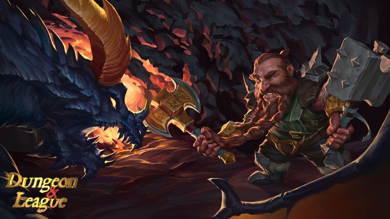 Dungeon and League: Legends Strike of MOBA Mobile