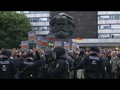 Επεισόδια σε πορεία ακροδεξιών στη Γερμανία