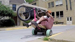 Motorized Sofa Chair aka Lazier Boy
