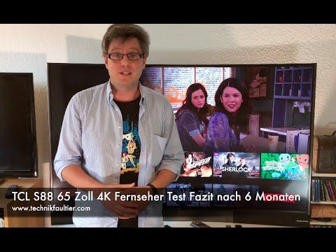 TCL S88 65 Zoll 4K Fernseher Test Fazit nach 6 Monaten