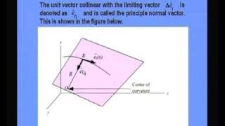 Mod-10 Lec-24 Kinematics Of A Particle Moving On A Curve
