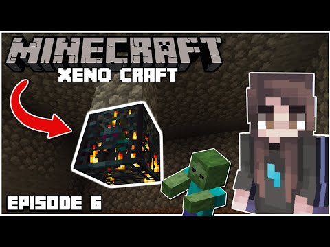 AWESOME ZOMBIE XP GRINDER   Xeno Craft EP 6   Minecraft 1.15.2