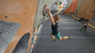 Such A Great Climbing Session - Peter - Good To Be Back! by Eric Karlsson Bouldering