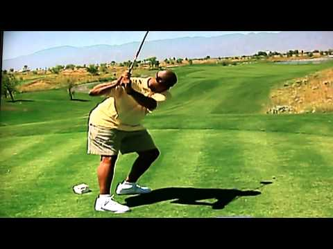Looks Like Alexander Ovechkin's Golf Swing is Almost as Bad as Charles Barkly's Gnarly Swing