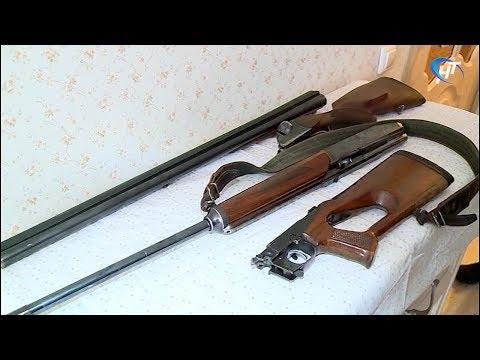 Новгородское отделение Росгвардии подводит итоги проверок хранения гражданского оружия