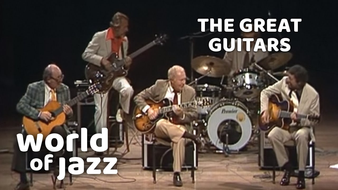 The Great Guitars: Barney Kessel, Charlie Byrd and Herb Ellis • 11-07-1982 • World of Jazz