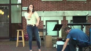 Meridith Roberson Sings Fool Hearted Man In Paris Tennessee