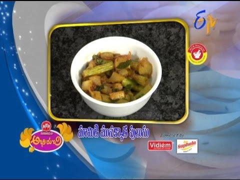 Abhiruchi--Mamidi-Mulakkada-Pulusu--మామిడి-మునక్కాడ-పులుసు