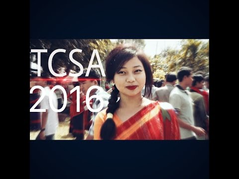 Tripura chakma students association|| new chakma video||2017
