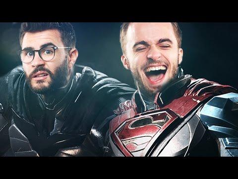 SUPERMAN PLUS FORT QUE BATMAN ? - Injustice 2 (видео)