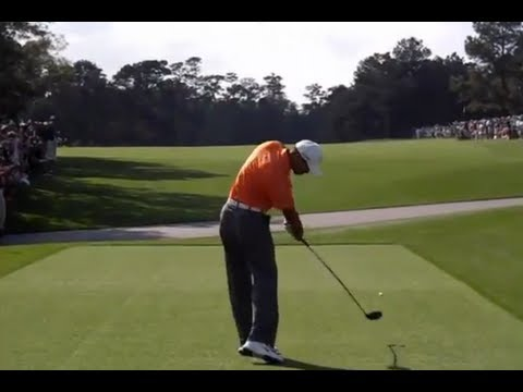 Tiger Woods, Rory McIlroy, Dustin Johnson & more … 2013 Masters Golf Practice Rounds