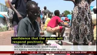 David Bainbridge on South Sudan