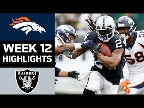 Video: Broncos vs. Raiders | NFL Week 12 Game Highlights