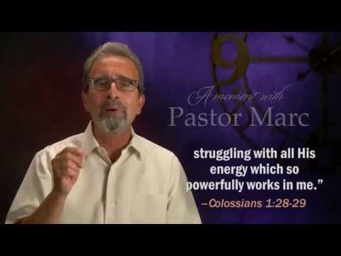 "A Moment with Pastor Marc #32<br /><strong>""Pep Talk""</strong>"