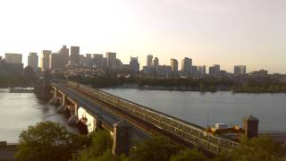 Sunrise Time-Lapse Over Longfellow Bridge - May 30, 2015