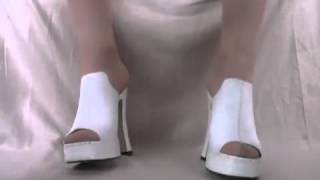 Ladies High Heels Sexy Shoes  White Sexy Platform Shoes 2