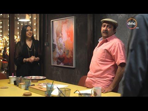 """فريق عمل """"تع اشرب شاي"""" يتهرب من التصوير مع إيمي سمير غانم..والحجة رمضان"""