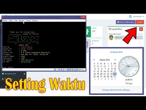 GAMPANG, CARA SETING WAKTU DI VHD CANDY CBT - TUTORIAL CANDY CBT 2019 PART 2