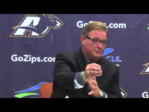 Zips Football: Coach Bowden Week 2 Press Conference