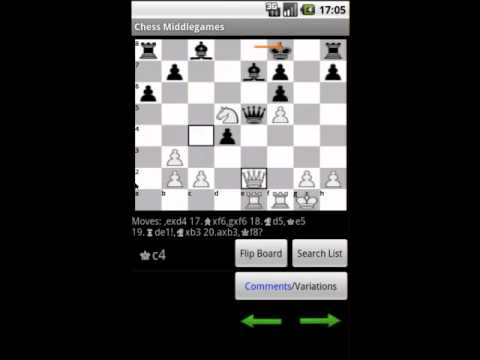 Video of Chess Middlegames