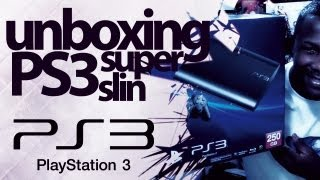 PS3 Super Slim - Gostei! / Unboxing / Muito Leve e Compacto / NovaStar Games /
