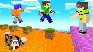 Video JUMP Over The LAVA Or LOSE! (Minecraft Simon Says) MP3, 3GP, MP4, WEBM, AVI, FLV Agustus 2019
