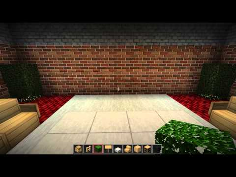 Minecraft: How to Make a nice looking Living room (PC and Xbox)