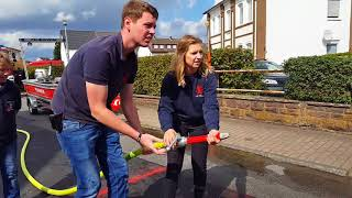 ?Die Albaxer? siegen beim Feuerwehr-Geschicklichkeitswettkampf