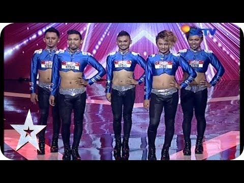 Vogue Dance By Return Dancer - Audition 5 - Indonesia's Got Talent
