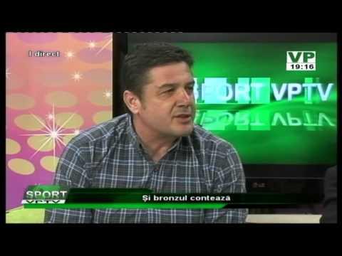 Emisiunea Sport VP TV – Radu Diaconeasa, Marian Anton, Gabi Călin și Marian Stanciu – 27 aprilie 2015