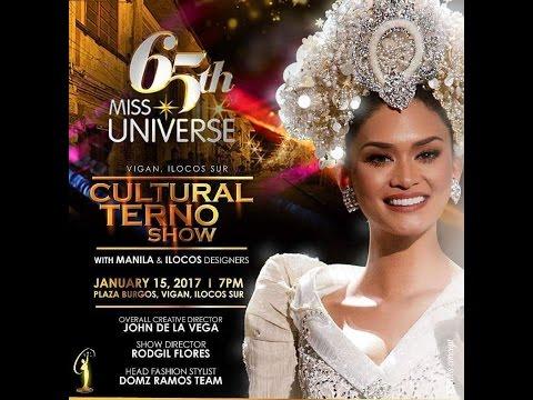 LOOK: Miss Universe beauties wear Pinoy-made ternos (видео)