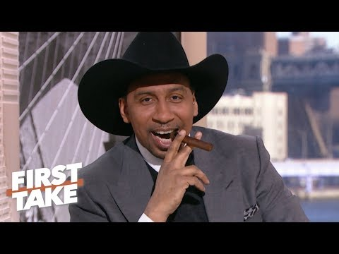 Stephen A. breaks out a cigar to celebrate the Cowboys' playoff loss  First Take