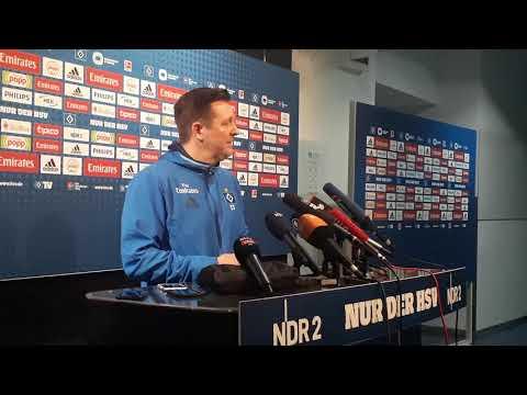 Titz am Tag nach dem HSV-Sieg in Wolfsburg