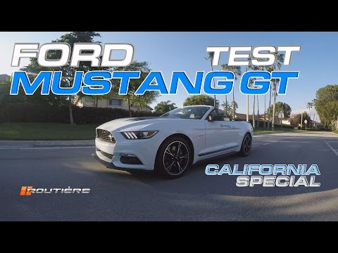 Ford Mustang GT California Special Test