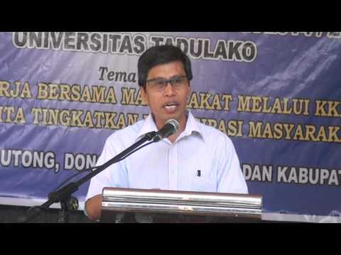Dok Humas Untad, SUPERVISI KKN UNTAD Palu Angkt 71