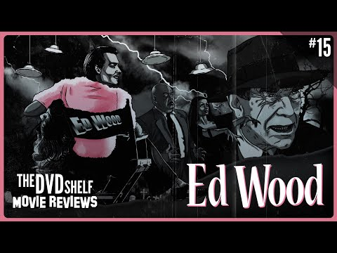 Ed Wood   The DVD Shelf Movie Reviews #15