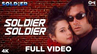 Video Soldier Soldier Full Video - Soldier | Bobby Deol & Preity Zinta | Kumar Sanu, Alka Yagnik MP3, 3GP, MP4, WEBM, AVI, FLV Januari 2019