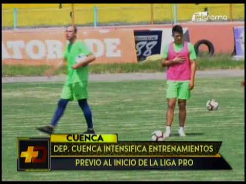 Dep. Cuenca intensifica entrenamientos previo al inicio de la Liga Pro