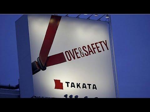 Δήλωση ενοχής από Τακάτα για ελαττωματικούς αερόσακους
