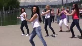 Video Nabila Bellydance: Shaaby Flashmob 2016 in Austria MP3, 3GP, MP4, WEBM, AVI, FLV Agustus 2018