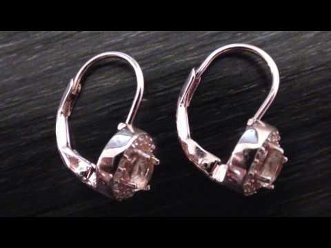 I love Rose Gold Morganite earrings... Do you?