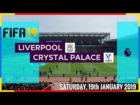 Liverpool Vs Crystal Palace - Saturday, 19th January 2019 #PremierLeague