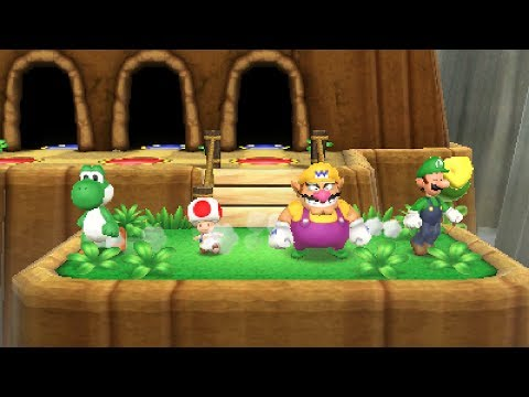 Mario Party: Island Tour - Banzai Bill's Mad Mountain