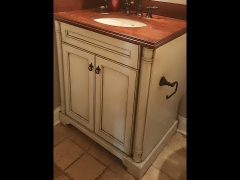 Antique glaze in Full Tint for Vanity, Cabinets & furniture