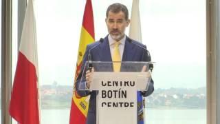 Palabras de S.M. el Rey en la inauguración del Centro Botín de Santander