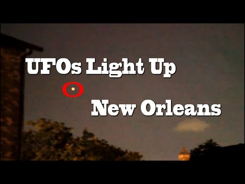 11/25/2014 UFO Sightings New Orleans UFOs Shock Eyewitness!