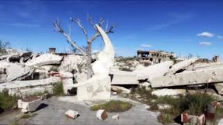 Drone-Video Ruinas de Epecuén