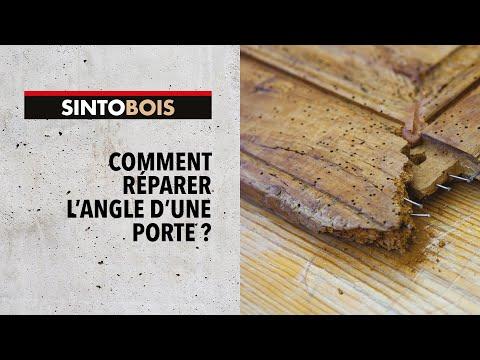 comment reparer volet en bois