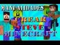 HACER STEVE DE MINECRAFT | MANUALIDADES GOMA EVA - youtube.com