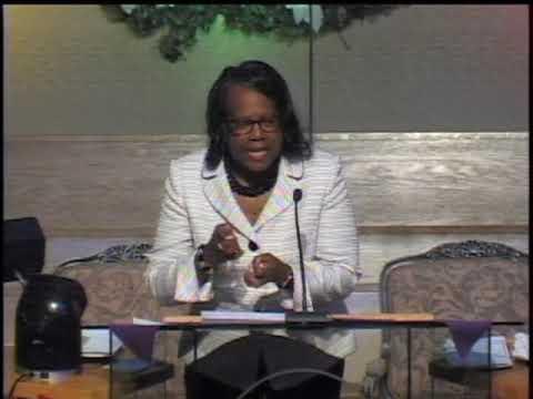 Rev. Sylvia E. Sumter, Senior Minister includes a special meditation